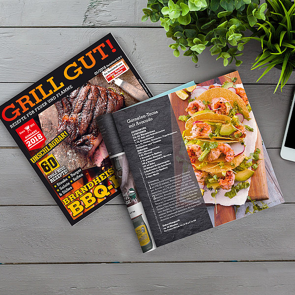 Grill Gut Magazin Cover